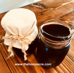 homeacre elderberry syrup